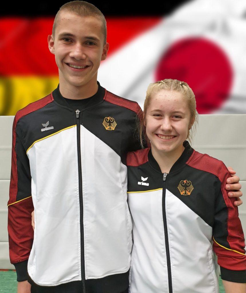 Luisa und Paul WAGC-Nominierung